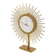 Mercana Enduring Elegance Table Clock, Gold