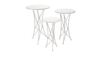 Display Tables, Set of 3