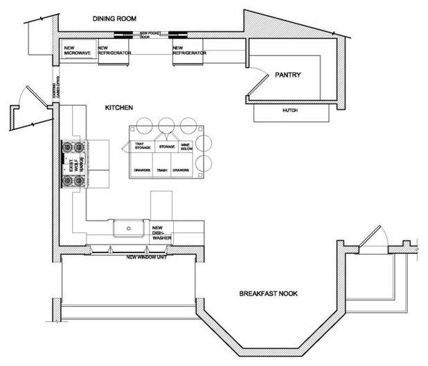 Ideal Floor Plan by Crisp Architects