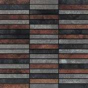 Mirage Workshop, 1x4 mosaic, Copper Mix Tribend