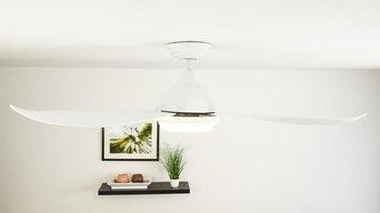 Deckenventilator Raja inklusive LED Beleuchtung und Fernbedienung