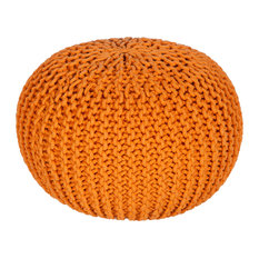 Surya MLPF-005 Indoor Pouf from the Malmo collection