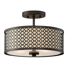 50 most popular oil rubbed bronze flush mount ceiling lights for bay circle pattern drum shade 2 bulb ceiling light oil rubbed bronze aloadofball Choice Image