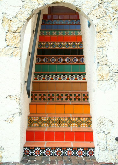 Escalera decoración Marmol