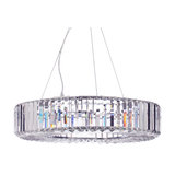 Marquis by Waterford, Foyle LED 8 Light Pendant, Chrome