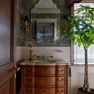 Источник вдохновения для домашнего уюта: ванная комната в классическом стиле