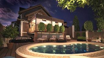 Архитектурное решение загородного дома