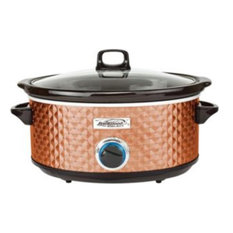 Brentwood  7 qt. BS Slow Quilted Cooker , Copper
