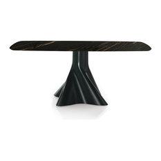 Shift Rectangular Dining Table, Noir Desir