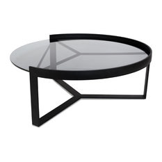 - Marcel Glass Coffee Table - Large - Coffee Tables