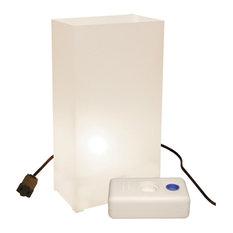 Electric Luminaria Kit with LumaBases White