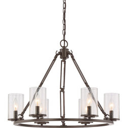Spectacular Transitional Chandeliers by Quoizel