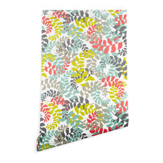 Deny Designs Heather Dutton Undertow Coral Wallpaper, Multi, 2'x8'