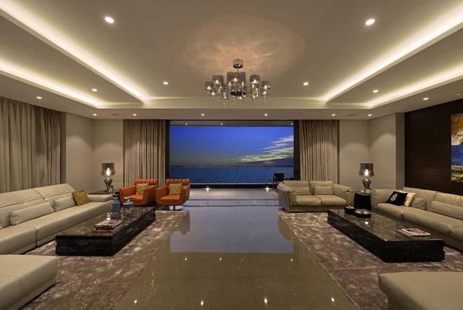 Contemporary Living Room by GA design