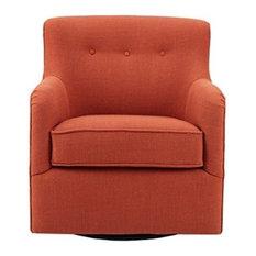 Madison Park Adele Swivel Chair
