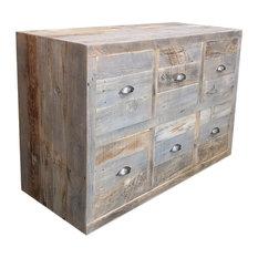 reclaimed wood dresser 6 drawers dressers