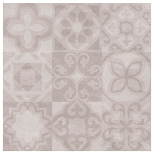 Alfred Wall and Floor Tiles, Matte Beige, Set of 5 m²
