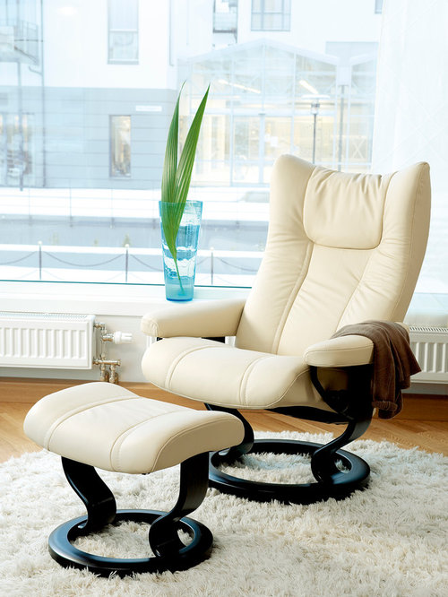 Stressless Wing Recliner and Ottoman - Recliner Chairs & Stressless Recliners islam-shia.org
