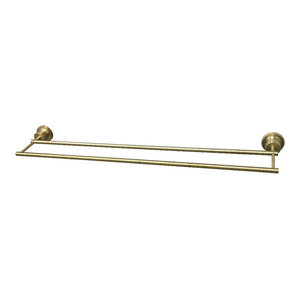 Kingston Brass BAH8211SB Concord 24-Inch Single Towel Bar Brushed Brass