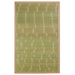 JazzyFloors - Anji Mountain Bamboo AMB0070 Key West Area Rug 7'x10' - The Anji Mountain Bamboo AMB0070 Key West Area Rug is offered by Incredible Rugs and Decor. Made of Bamboo, we are confident that you will find these Machine Made  Rugs to be an incredible addition to your home or office. Bamboo rugs have been a traditional floor covering in the Far East for centuries. They add a touch of organic, practical elegance to any space. Our bamboo rugs are made of the finest quality, sustainably harvested bamboo in the world for supreme durability. Kiln-dried bamboo is machine-planed and sanded for a smooth finish. This classic collection offers a variety of intriguing designs and brilliant colors to choose from.Please note: the colors shown in the product photograph may vary slightly from actual product. If color matching is critical, we suggest ordering a small rug size to sample in your home. Rug measurements are approximate and can vary by up to 4 inches. Most rug images shown are 5x8 in size. Patterns may vary by size and designs are usually more elaborate in larger sizes.