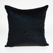 Parkland Collection Spano Transitional Black Solid Pillow Cover
