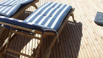 Confort sur une plage de piscine FREEDECK