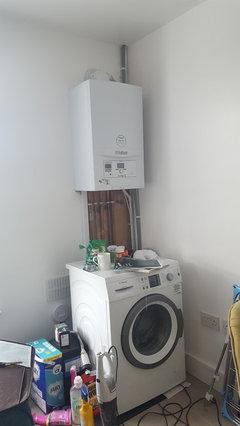 Boiler And Washing Machine Cabinet Houzz Uk
