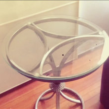 bicycle rim table