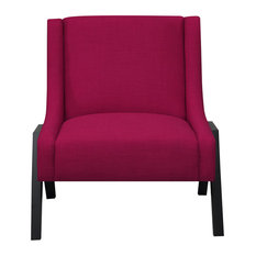 Picket House Furnishings Langley Accent Chair, Berry