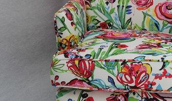 Moni Danish design wingback chair