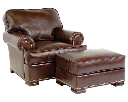 leather chairs and ottomans products