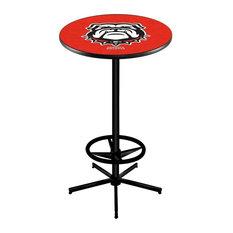 Georgia -inchBulldog-inch Pub Table 36-inch by Holland Bar Stool Company