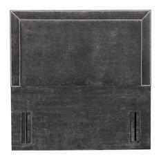 Monza Floor Standing Headboard, Hercules Charcoal, 120 cm