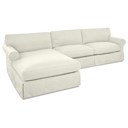 Transitional Sectional Sofas by Klaussner Furniture