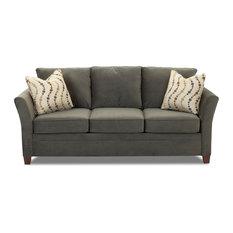 Murano Sofa, Belsire Pewter   Sofas