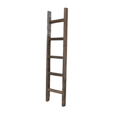 Barnwoodusa Reclaimed Wood Ladder 5 Display And Wall Shelves