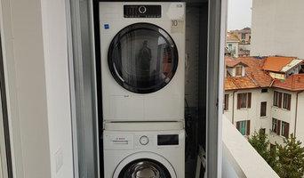 Armadi per esterno copri lavatrice/asciugatrice