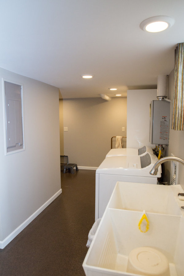 Sewing Room and Basement Remodel