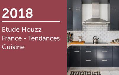 Étude Houzz France: Tendances Cuisine 2018