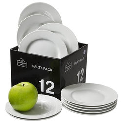 Contemporary Salad And Dessert Plates by 10 Strawberry Street