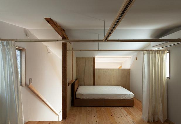 コンテンポラリー 寝室 by Coil 松村一輝建築設計事務所
