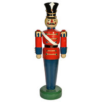 Heavy Duty Fiberglass Christmas Toy Figure Jeweled