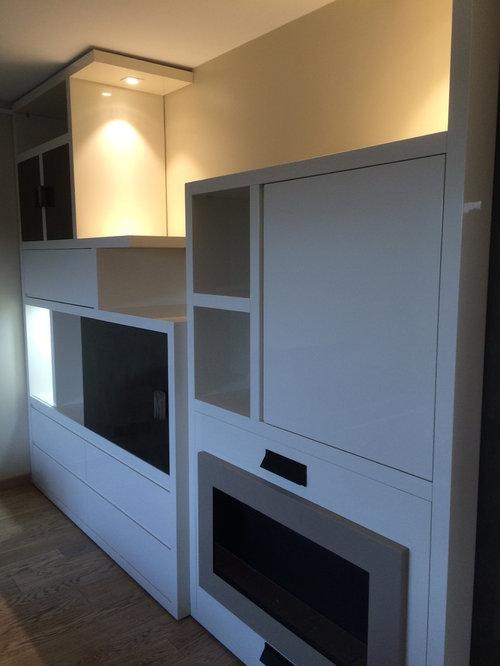 cr ation et r alisation meuble sur mesure biblioth que tv. Black Bedroom Furniture Sets. Home Design Ideas