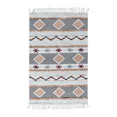 Yuma Kilim Shag Area Rug by Kosas Home, 2'x3'