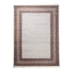 Indo Sarough Mir Rug, Oriental Carpet, India Hand-Knotted Classic, 200x140 cm