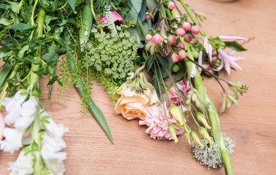 Blumenfreunde aufgepasst: Wir binden einen stylischen Frühlingsstrauß!