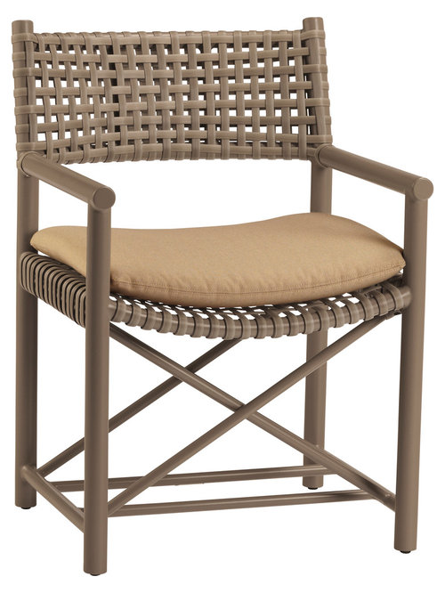Antalya Outdoor Arm Chair: AN 45   Outdoor Lounge Chairs