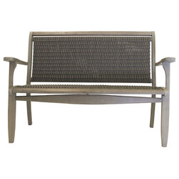 Tropical Outdoor Benches by Outdoor Interiors