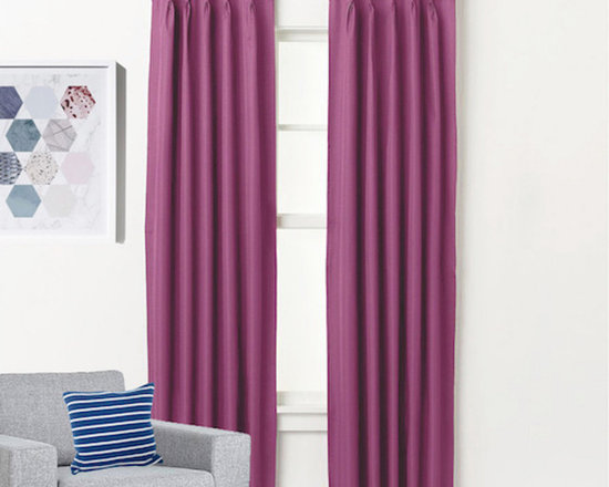 aspen blockout pinch pleat textured insulated curtains 4 sizes pink curtains