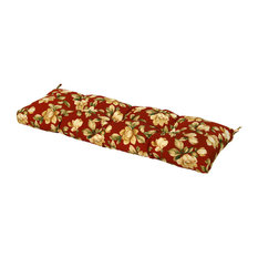 Outdoor 51 in. Bench Cushion, Roma Floral